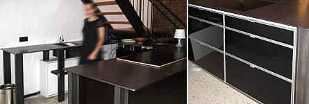 metallarbeiten ma gefertigte m bel aus stahl loft k che aus baustahl. Black Bedroom Furniture Sets. Home Design Ideas